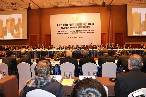 Diễn đàn Đối tác Phát triển Việt Nam 2017