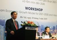 [DIỄN ĐÀN TẦM NHÌN VIỆT NAM 2045] Đi tìm các giải pháp hình thành mô hình tăng trưởng cho Việt Nam