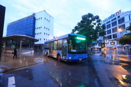 Hà Nội: Vận tải hành khách bắt đầu hoạt động trở lại