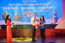 Liên hoan tuyên truyền măng non tại 6 tỉnh miền Trung