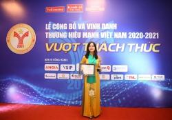 """Hapro vượt qua thách thức trụ vững danh hiệu """"Thương hiệu mạnh Việt Nam"""""""
