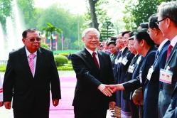 Thâm tình Việt - Lào - Campuchia