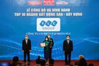 FLC được vinh danh Top 10 ngành bất động sản – xây dựng thương hiệu mạnh Việt Nam 2020 – 2021