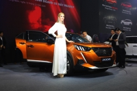Mẫu xe SUV Peugeot 2008 và xe máy thương hiệu Pháp sản xuất và ra mắt tại nhà máy THACO